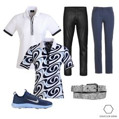 Dunkles Muster-Outfit