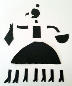 TresQuatreiCinc: DIBUIXAR LA VELLA QUARESMA AMB TISORES. Plàstica P5. Collage