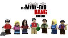 Lego Big Bang Theory minifigs