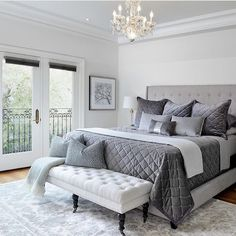 44 exquisitely admirable modern french bedroom ideas to steal 35 Dream Rooms, Dream Bedroom, Home Decor Bedroom, Modern Bedroom, Bedroom Ideas, French Bedroom Decor, Bedroom Images, Bedroom Inspiration, Bedroom Furniture