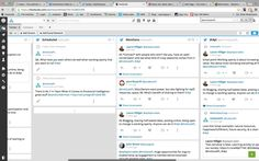 """InstitutePL ‏@InstitutePL  1m1 minute ago Do screenshots count? Am I working openly yet? This is me moderating a Twitter chat #i4pl """