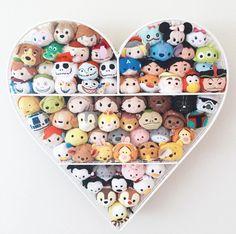 The cutest new trend features Disney Tsum Tsum plush characters. Disney Pixar, Walt Disney, Disney Merch, Pop Disney, Disney Tsum Tsum, Disney Diy, Disney Crafts, Disney And Dreamworks, Disney Magic
