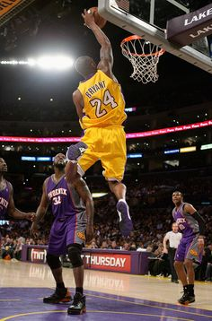 Kobe Bryant of the Los Angeles Lakers