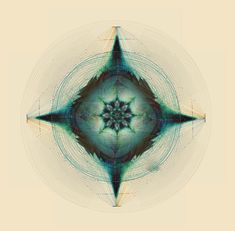 The Feathered Tribe by COMPLEXITY GRAPHICS #geometry #symmetry #lines