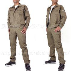 Toraichi 2110-124 long‐sleeved blouson  2110-221 one‐tuck power pants