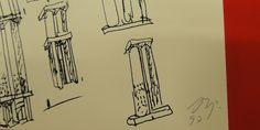 Esboço de Álvaro Siza Vieira © Arquivo UA #luxosqueoimpériotece #portugal #arquitetura #pritzker #alvarosizavieira #sizavieira #império #imperivm #imperivmriodejaneiro | Sketch by Álvaro Siza Vieira © UA Archive #luxuriesthattheempireweaves #portugal #architecture #pritzker #alvarosizavieira #sizavieira #empire #imperivm #imperivmriodejaneiro