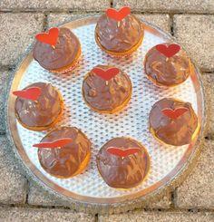 Schokomuffins mit Marzipan-Füllung