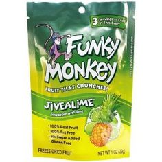 Funky Monkey Snacks on A Fit And Spicy Life