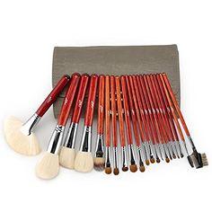 Set de 21 pinceaux maquillage professionnels en poils naturels | Your #1 Source for Beauty Products