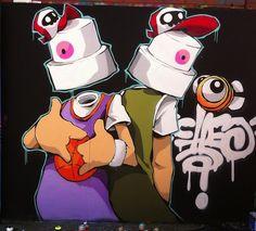 Billedresultat for best graffiti artists Best Graffiti, Graffiti Tagging, Street Art Graffiti, Desenho New School, Graffiti Spray Can, Graffiti Characters, Graffiti Artists, Spray Can Art, Freaky Deaky