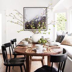 Home Decoration Inspiration .Home Decoration Inspiration Küchen Design, Home Design, Interior Design, Interior Styling, Design Ideas, Decoration Inspiration, Dining Room Inspiration, Decor Ideas, Dining Nook