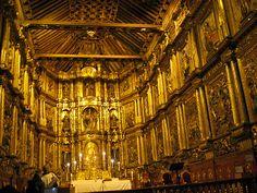 Interior de la Iglesia de San Francisco - Avenida Jiménez con carrera 7a. Bogotá Colombia
