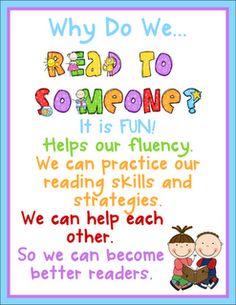 Classroom Freebies Too: Read to Someone Freebies