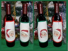 Фартучки декоративные Санта по дизайнам Permin