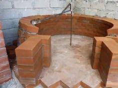 Costruzione forno a legna - Wood fired pizza oven construction - YouTube