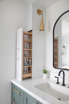 Master Bath Remodel, Master Bathroom Remodel Ideas, Bathroom Renos, Houzz Bathroom, Washroom, Modern Farmhouse Bathroom, Farm House Bathroom, Modern Bathroom Cabinets, Upstairs Bathrooms