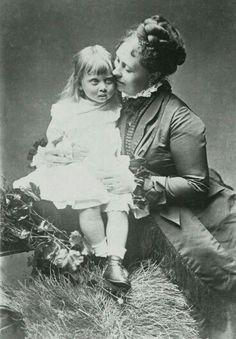 Margaret da Prussia & Victoria do Reino Unido - mãe e filha