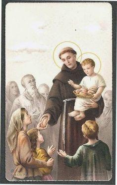 images pieuses tous les saints - Page 2 Saint Antony, Saint Anthony Of Padua, Catholic Art, Catholic Saints, Oracion A San Antonio, St Clare's, My Big Love, Santa Teresa, The Orator
