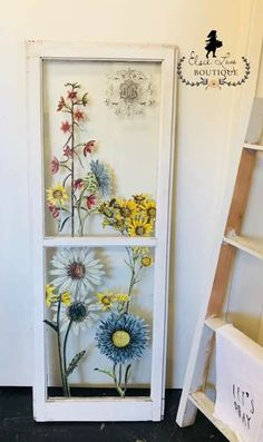 iod transfers on furniture ~ iod transfers on furniture ; iod transfers on furniture boho ; iod transfers on furniture videos Iron Orchid Designs, Orchard Design, Window Painting, Pretty Furniture, Rustic Crafts, Old Window Decor, Window Crafts, Window Frame Decor, Frame Decor