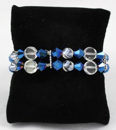Dark Blue Crystal Bracelet