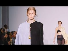 Central Saint Martins MA AW16 at London Fashion Week - YouTube