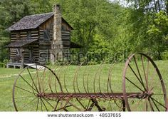 old log cabin pictures - Google Search