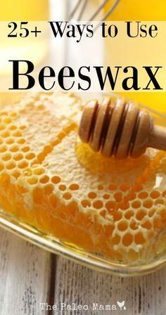 25 Ways to Use Beeswax | The Paleo Mama: