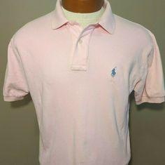 Cross Creek adult L large lg mens yellow short sleeve polo shirt NOS