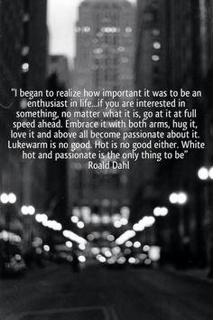 I began