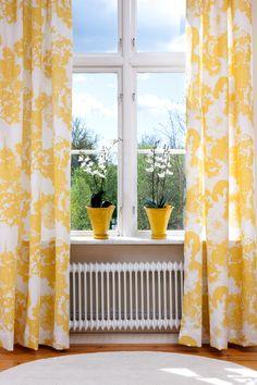 Mairo Mademoiselle curtains. Designed by Lisa Bengtsson.