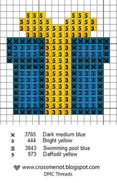 Christmas gift - free cross stitch patterns.