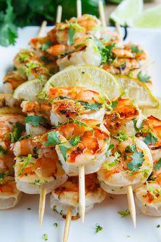 ... cilantro lime grilled shrimp