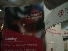 Protean Lite being used to showcase the Callcredit exhibition.  www.protean.uk.com