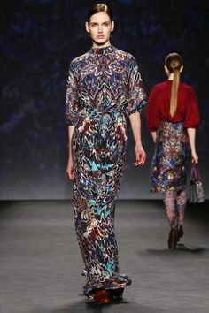 Vivienne Tam Ready To Wear Fall Winter 2014 New York - NOWFASHION