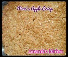 Mom's apple crisp