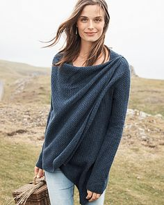 Textured Cashmere Asymmetrical Cardigan $198 Oversized silhouette  Shawl collar  3/4 dolman sleeves  Side button detail  Open front  Tunic length  Cashmere  Imported