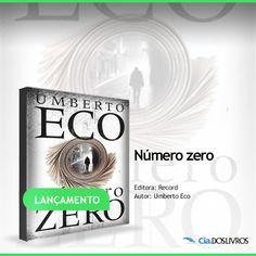 #Lançamento  Ei, meus caros, apresento-lhes o mais novo best-seller internacional de Umberto Eco. ;-)   O romance que é um verdadeiro manual do mau jornalismo.  Você está prestes a conhecer um paranoico editor que reconstitui cinquenta anos de história sobre um cenário diabólico.   Não fique na curiosidade. Clique aqui e confira! -> http://profhorac.io/7l