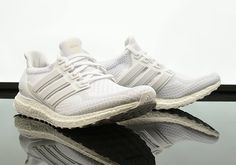 c7cba38a1 Triple White adidas Ultra Boosts Just Released