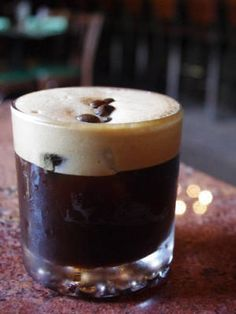 Bronx Bomber: Alcoholic Coffee Drinks - Recipes for Coffee Cocktails - Cosmopolitan