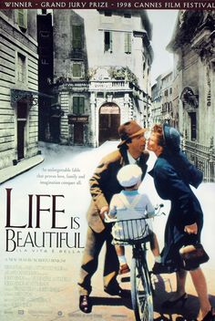 Tela de cinema - Life is beautiful is about unconditional love. It is about the choice to have hope under the worst circumstances. Teachers need to learn from its spirit.