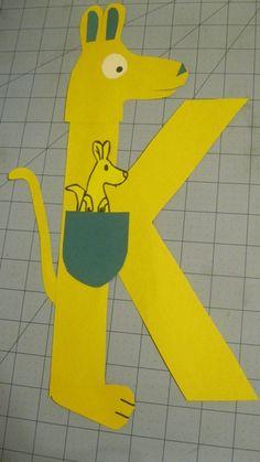 Miss Maren's Monkeys Preschool: The Letter K & triangle