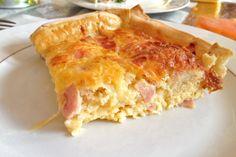 Ingezonden door Kimberly: ham-kaas quiche
