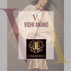 So happy to share that VA has collaborated with the stunning jewellery brand #jomayana We Can't wait for the shoot! #gulabkamal #comingsoon #VA+Jomayana #shopvidhianand #jomayana #jewellery #clothing #womensfashion #april2016 ❤️