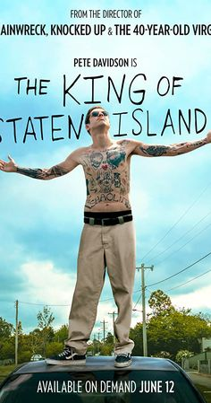 "This summer, Judd Apatow directs Saturday Night Live breakout, Pete Davidson, in a bracing comedy ""The King of Staten Island."" The film will be. 2020 Movies, Hd Movies, Movies To Watch, Movies Online, Movies And Tv Shows, Movie Tv, Movies Free, Movie List, Bill Burr"