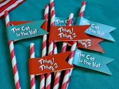 Dr. Seuss Party by serendipity soiree