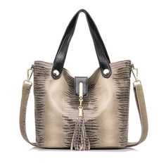 Crocodile Pattern Genuine Leather Bag  $65.00 www.ShopDulceVida.com . . #Tassel #Bag #Crossbody #me #women #fashion #body #and #beautiful #pumps #friends #lovit #jumpsuits #belts #sunglasses