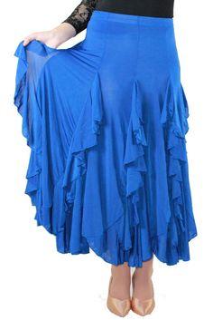 ballroom dancing skirt | Shop > Ladies Ballroom Skirts > Ballroom and Latin Dance Skirt