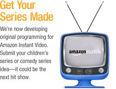 Props to Amazon for opening it's doors to show creators.  Time to polish off those show proposals peeps!