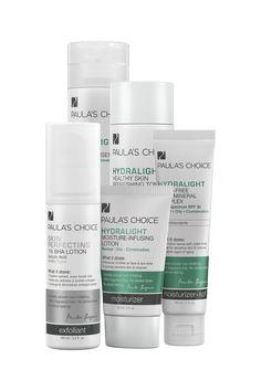 Hydralight Oily Skin Products   Paula's Choice Skincare & Cosmetics - LOVE this kit!!