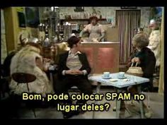 Monty Python SPAM legendas em portugues